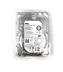 "Dell / Seagate Technology - ST4000NM0063 SED (Self-Encrypting Drive technology) 4TB 7.2K RPM 3.5"" SAS Hard Drive"