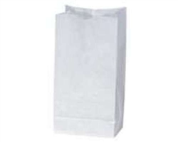 White Duro 4# Grocery Bag 81250