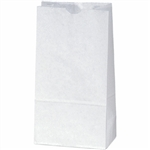 White Duro 6# Grocery Bag 81223