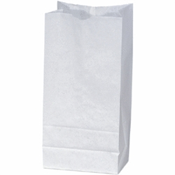 White Duro 8# Grocery Bag 81273