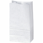 White Duro 12# Grocery Bag 81004