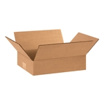BOX 120903 12x9x3 Flat Corrugated Shipping Boxes