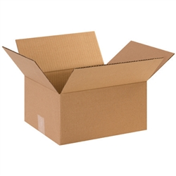 BOX 121004 12x10x4 Flat Corrugated Shipping Boxes