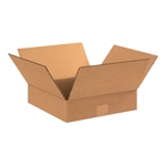 BOX 121202 12x12x2 Flat Corrugated Shipping Boxes