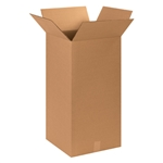 BOX 121224 12x12x24 Tall Corrugated Shipping Boxes