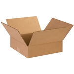 BOX 131304 13x13x4 Flat Corrugated Shipping Boxes