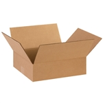 BOX 141204 14x12x4 Flat Corrugated Shipping Boxes
