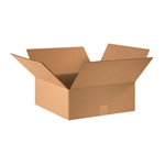 BOX 181804 18x18x4 Flat Corrugated Shipping Boxes