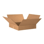 BOX 202004 20x20x4 Flat Corrugated Shipping Boxes