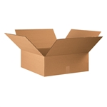 BOX 222208 22x22x8 Flat Corrugated Shipping Boxes