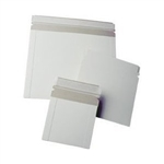 CMR 0709 White Self Seal Stay Flat Mailer 7x9