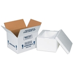 FIS C204 Foam Insulated Shipping Boxes 8x6x4.25