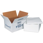 FIS C225 Foam Insulated Shipping Boxes 12x10x5