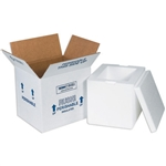 FIS C227 Foam Insulated Shipping Boxes 12x10x7