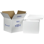 FIS C238 Foam Insulated Shipping Boxes 13x12x12