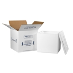 FIS C240 Foam Insulated Shipping Boxes 13x13x12.5