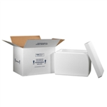 FIS C261 Foam Insulated Shipping Boxes 19x12x12.5