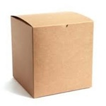 "GBR 0220K - Natural Kraft Gift Box - - 2"" x 2"" x 2"", 200 Per Case"