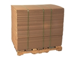 PAD 4896 DW 48x96 Double Wall Corrugated Pads