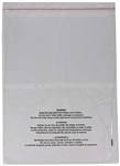 PBSZ 9x12 Suffocation Warning Poly Bags