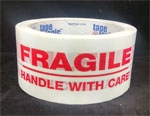 Pre-Printed Fragile Handle With Care