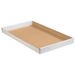 TRYW 2412 24x12x1 3/4 WHITE Corrugated Tray