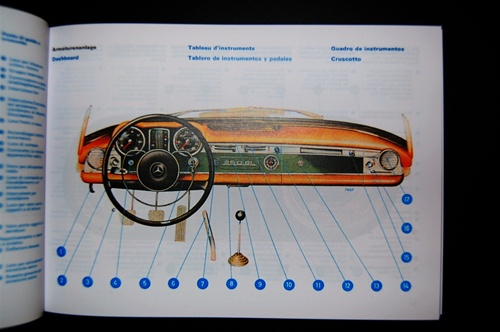 Mercedes benz 1967 68 250sl 113 chassis owners manual mercedes publicscrutiny Images