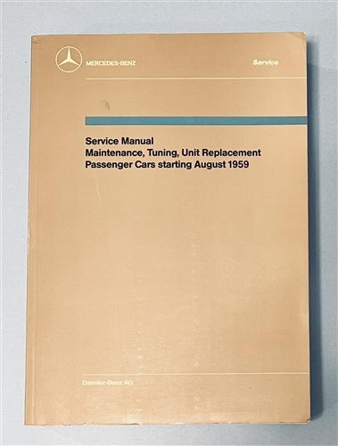 mercedes benz factory service workshop manual for models starting rh authenticclassics com Mercedes-Benz 280SE 70 1972 mercedes 280se service manual