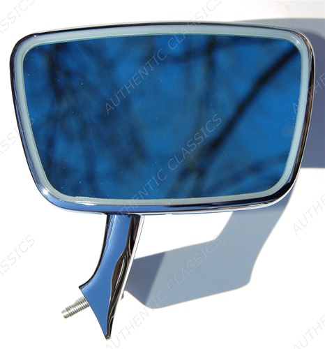 Mercedes W114 W115 New STAINLESS LEFT Side Mirror /& KIT