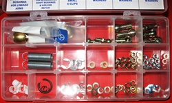84 Piece Mercedes Injection Linkage Repair parts Kit, fits most 108,109,112,189,113 Ch. Injected Models.