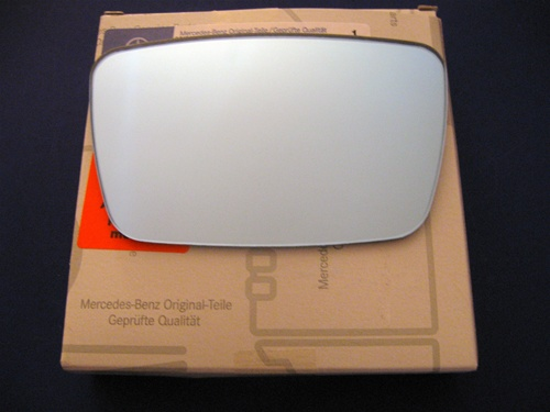 Convex Mirror Glass for Optional outside Mirrors on  100,108,109,111,113,114,115 Chassis
