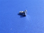 Chrome Plated Flat Head Slotted Wood Screw - 2.9x9.5 - DIN 7972