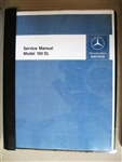 Mercedes Service Manual Supplement for 190SL - 121Ch.