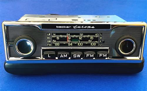 Becker Europa - AM/FM/SW Radio for Mercedes 280SL, etc. With iPod ...