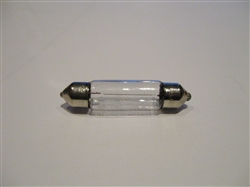Bulb - 10W / 12V - Tubular / Festoon  type - for Taillights, Interior Lamps.