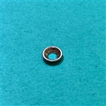 Chrome Plated Trim Washer 3.2 x 8mm - Curved Edge type