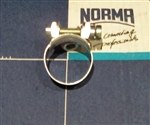 NOS Original Screw type Hose Clamp - 18mm size