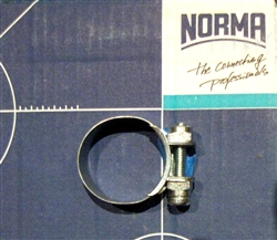 NOS Original Screw type Hose Clamp - 24mm size