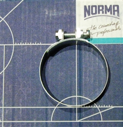 NOS Original Screw type Hose Clamp - 47mm size