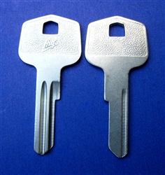 HUF Key Blank - Mercedes - 000 988 0459 9450