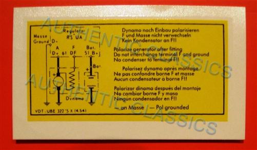 Decal -  U0026quot  Voltage Regulator 4 54  U0026quot