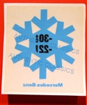 "DECAL - "" -22   -30 ANTIFREEZE "" - FOR 230SL 250SL 280SL WINDSHIELD"