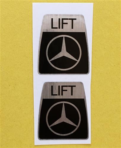 Kangol Seat Belt Decal set for Mercedes 230SL 250SL 280SL & others