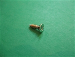 Chrome Plated Flat Head Trim Mounting Screw - 2.9 x 9.5mm