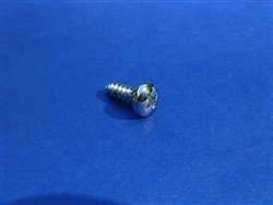 Chrome Plated Pan Head Screw - 4.2 x 13 - DIN 7981
