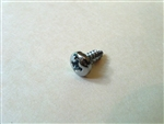 Mercedes Chrome Plated Pan Head Screw - DIN 7981 - 3.9 x 9.5