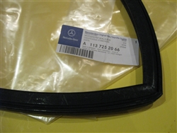 Window Seal for Folding Top & Hardtop Frame / Pillar - Right Side - fits Mercedes 230SL 250SL 280SL.