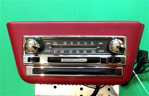 Becker Mexico AM/FM Tube Radio for Mercedes 300SL Roadster