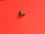 Chrome Plated Oval Head Machine Screw -  DIN 966 - M4x8