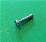 Chrome Plated Cheese Head Screw -  DIN 84 - M4x18